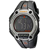 Timex Men's T5K758 Ironman Classic 30 Oversized Black/Silver-Tone Resin Strap Watch (Color: Black/Silver-Tone Negative, Tamaño: One Size)
