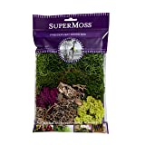 Super Moss (23310 Moss Mix Preserved, 2oz (110 Cubic Inch) (Color: 0, Tamaño: 80.75 in3 Bag (Appx. 2oz))