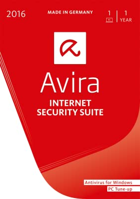 Avira Internet Security Suite 2016 | 1 PC | 1 Year | Download [Online Code]