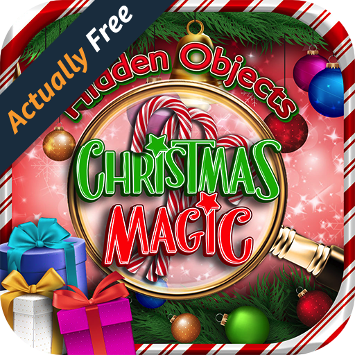 Hidden Object Christmas Magic Holiday Time - Pic Puzzle Objects Seek & Find Winter Santa FREE Game in New York, London, Paris, Florida, Vegas (Word Pics compare prices)