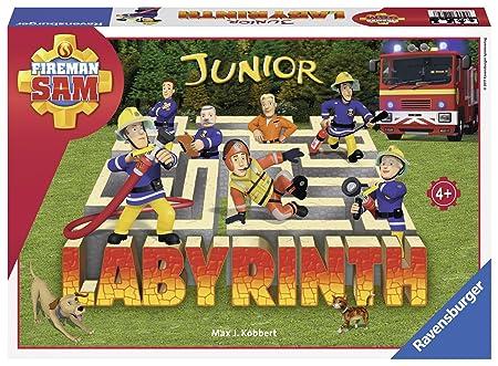 Ravensburger - 21282 - Labyrinthe Junior Sam Le Pompier
