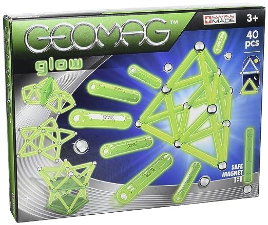 Giochi Preziosi - GM000 - Geomag - Glow 40 Pcs -