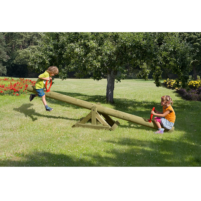 Wippschaukel Kinderwippe Wippe 300 cm aus Holz von Gartenpirat® günstig kaufen