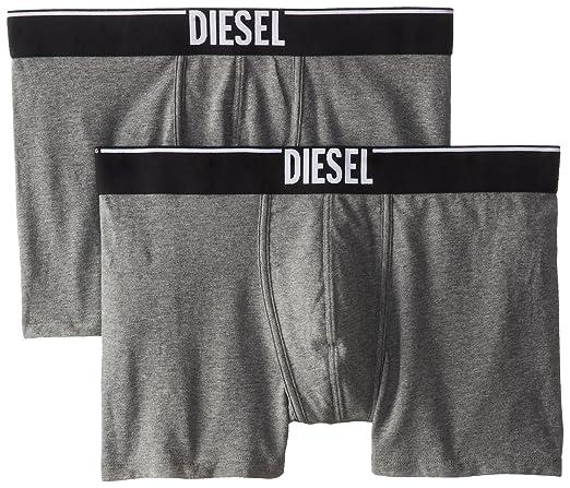 DIESEL 男士弹力平角内裤2条装,$18.66