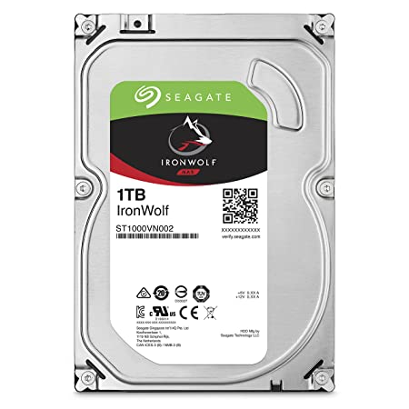 1TB Seagate IronWolf SINGLE PK at amazon