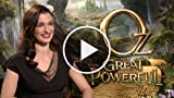 Oz: The Great And Powerful - Rachel Weisz Interview...