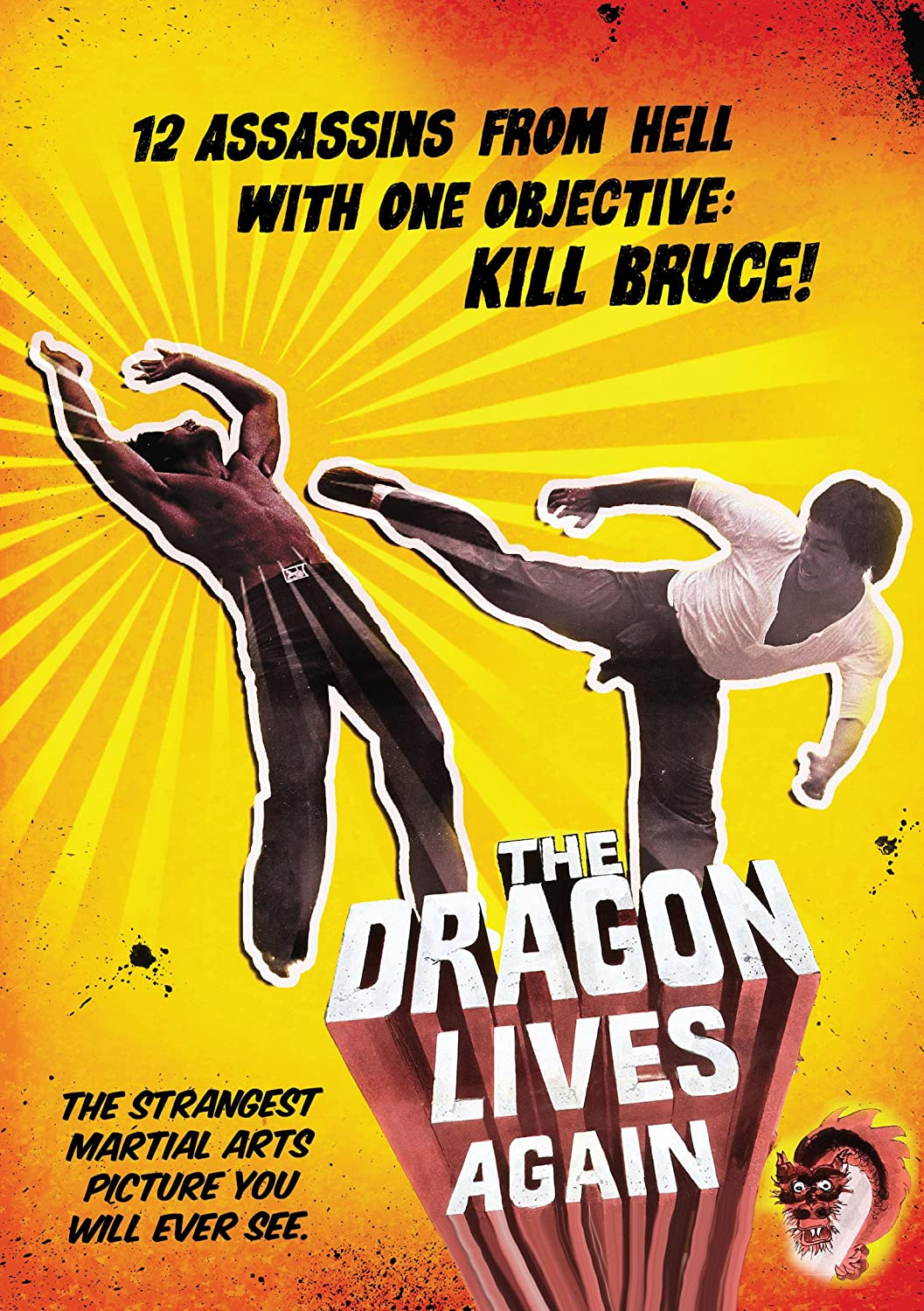 The Dragon Lives Again Cover