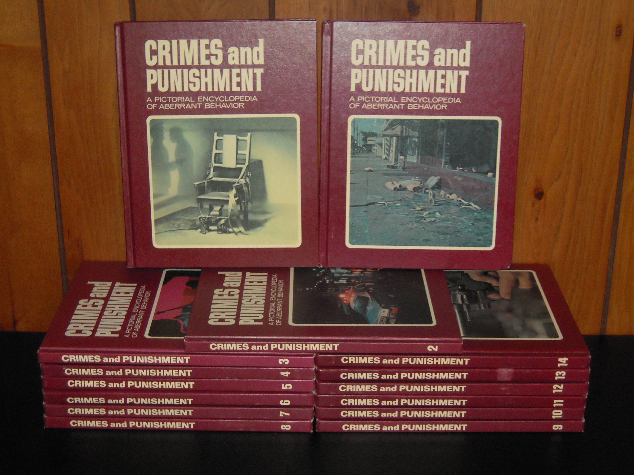 Crime and Punishment: a Pictorial Encyclopedia of Aberrant Behavior (A Complete Set of 20 Volumes)