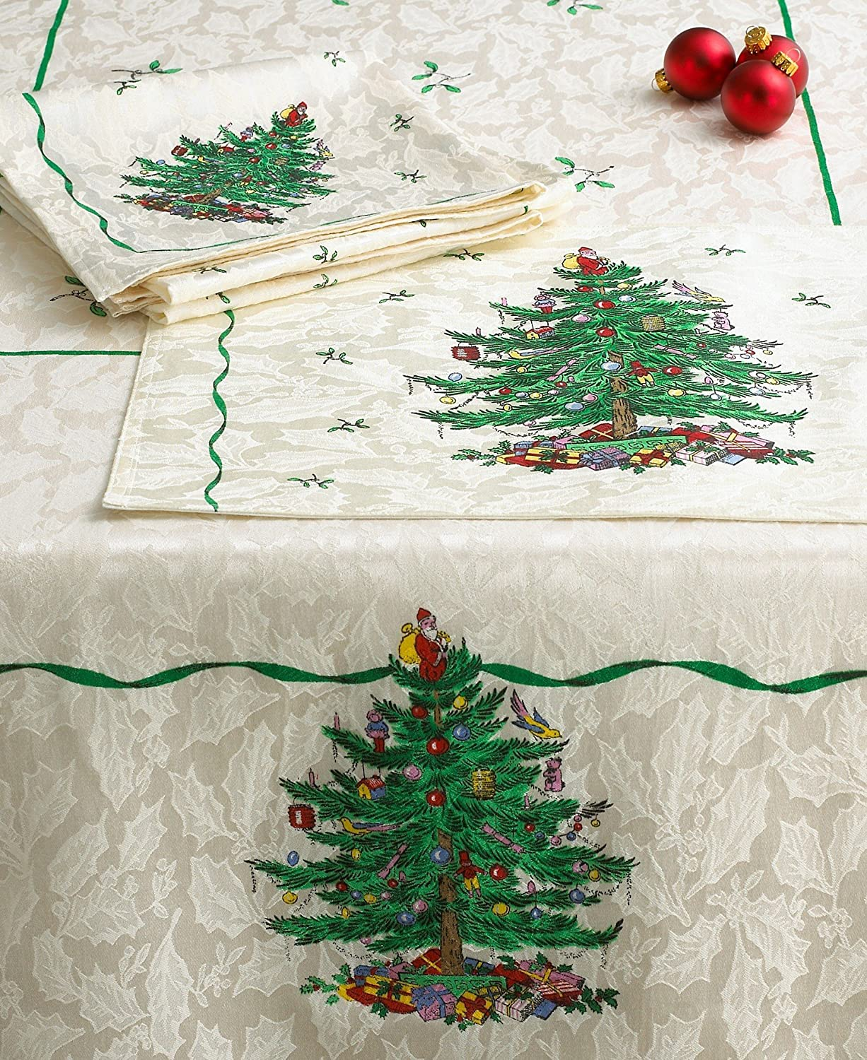Christmas Tree Fabric Napkins