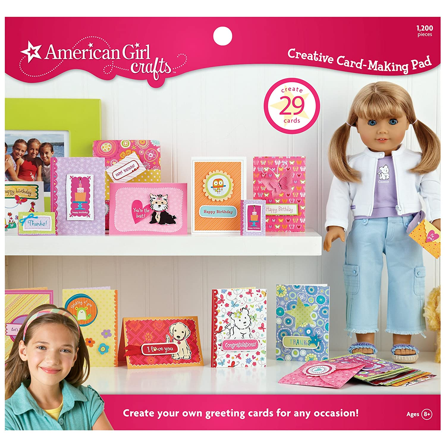 American Girl Crafts Creative Card-Making Pad