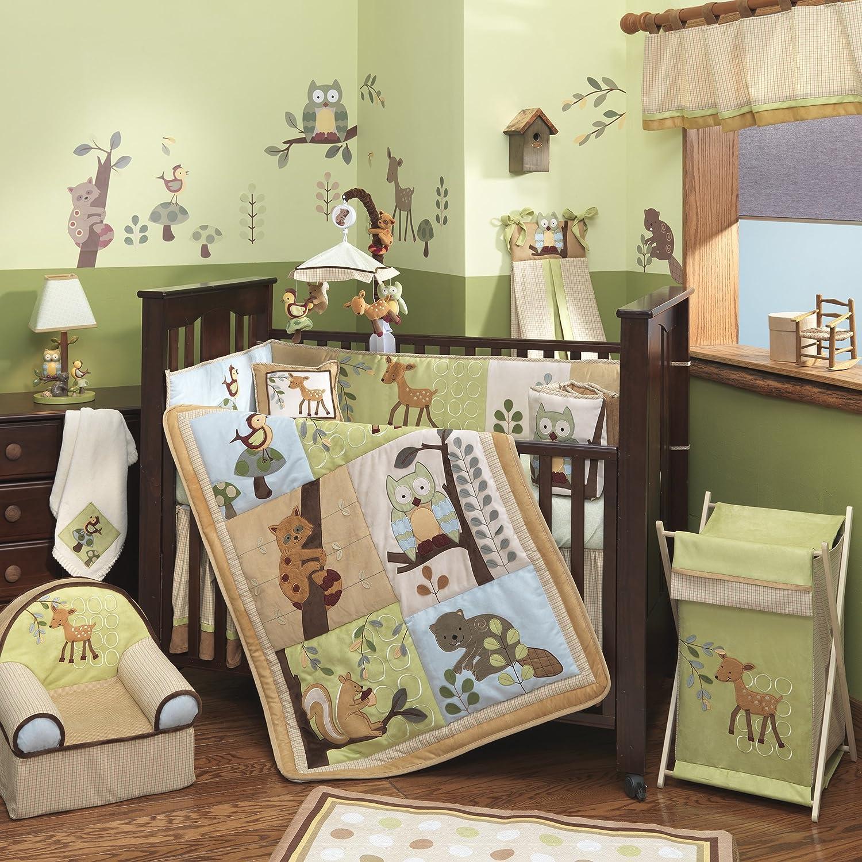Autumn Inspired Nursery: Enchanted Forest Wood Decor Theme | Babydeco ...