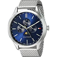 Tommy Hilfiger Men's 'OLIVER' Quartz Stainless Steel Casual Watch (Silver)