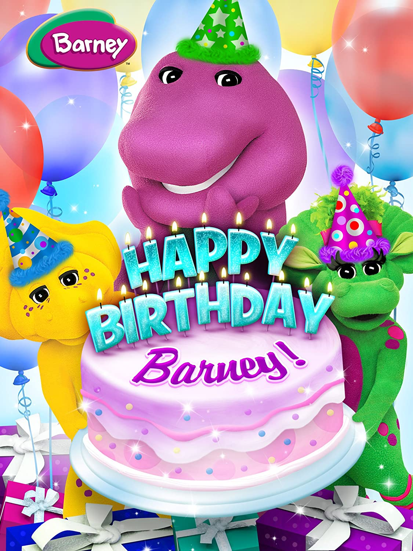 http://www.amazon.com/Barney-Happy-Birthday/dp/B00HW3EH5M/