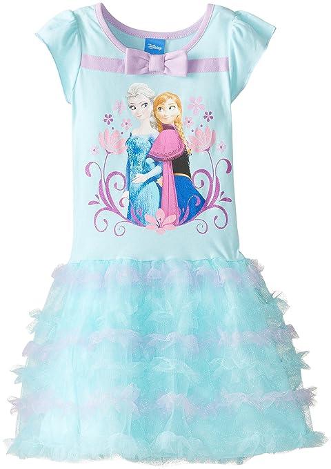 Disney-Little-Girls-Frozen-Flutter-Sleeve-Dress