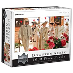 Downton Abbey 1000-Piece Puzzle - Flower Show