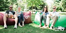 WindPouch Inflatable Air Chair Hammock - Free Accessories, Waterproof, Perfect for Camping, Beach, Park and Backyard