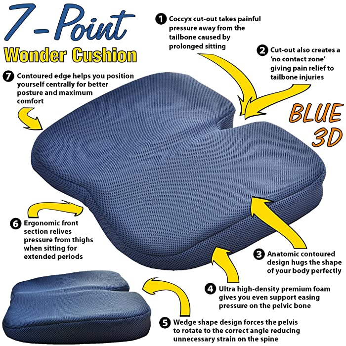 Best Seat Cushion For Cars And Office Chairs 2017