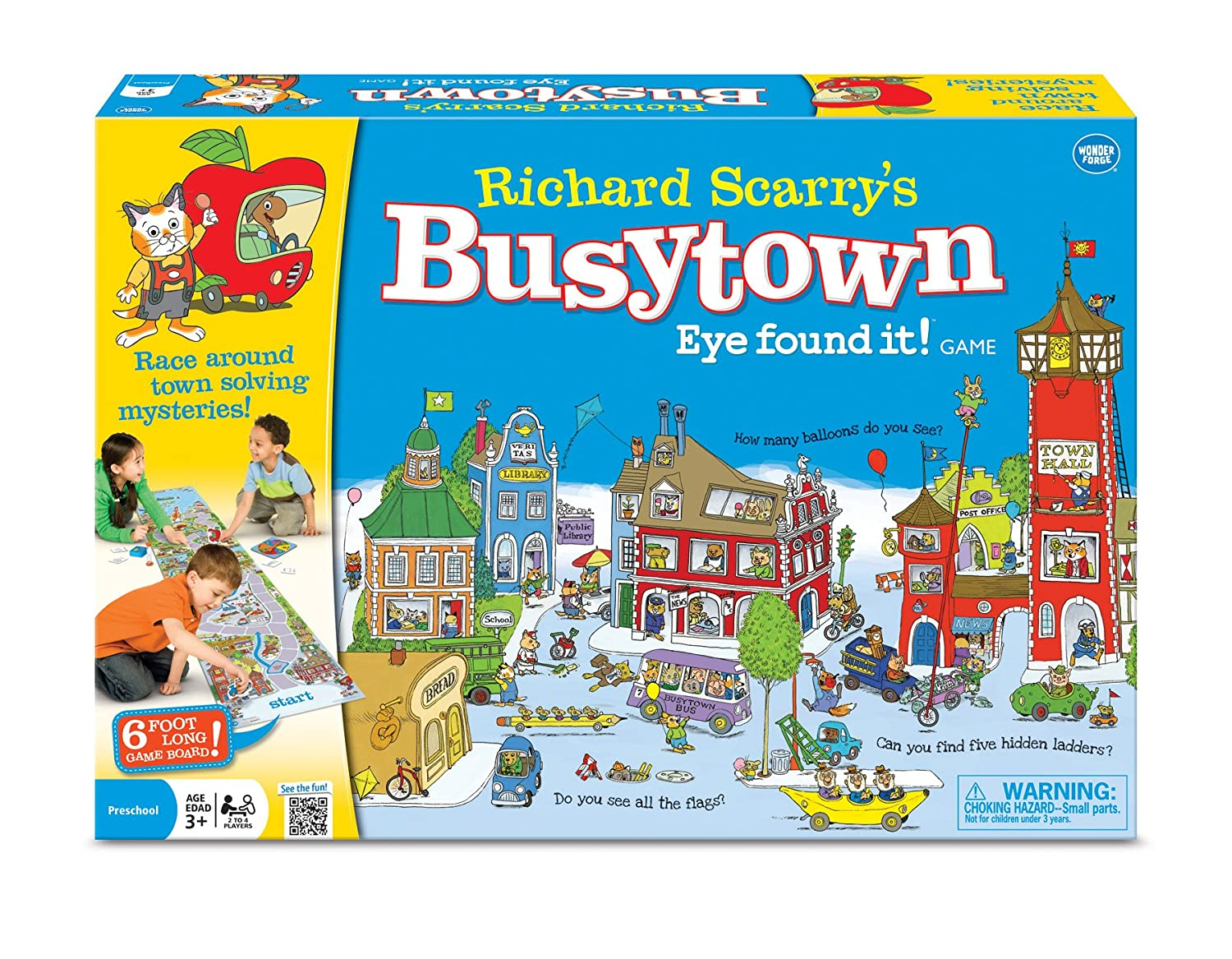 Busytown board game for preschoolers