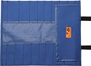 Bull Tools BT 18-`1202 Blue Wrench/Tool Roll 20 Pocket PVC Laminated Ballistic Polyester Water Proof 18 Oz. Heavy Duty Oxford Canvas (Color: Blue)