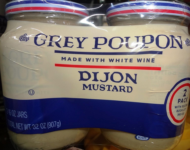 Grey Poupon Dijon Mustard-16 oz, 2 ct nemex 2 16 oz