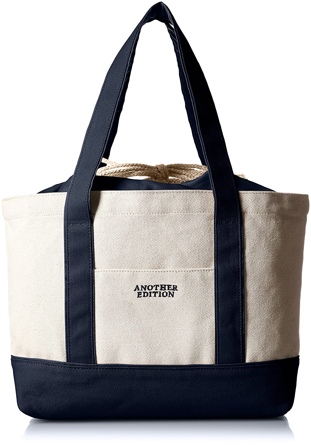 Amazon.co.jp: [アナザーエディション] Another Edition AEBC Canvas TOTE M 56321992109 79 (Navy/FREE): シューズ&バッグ:通販