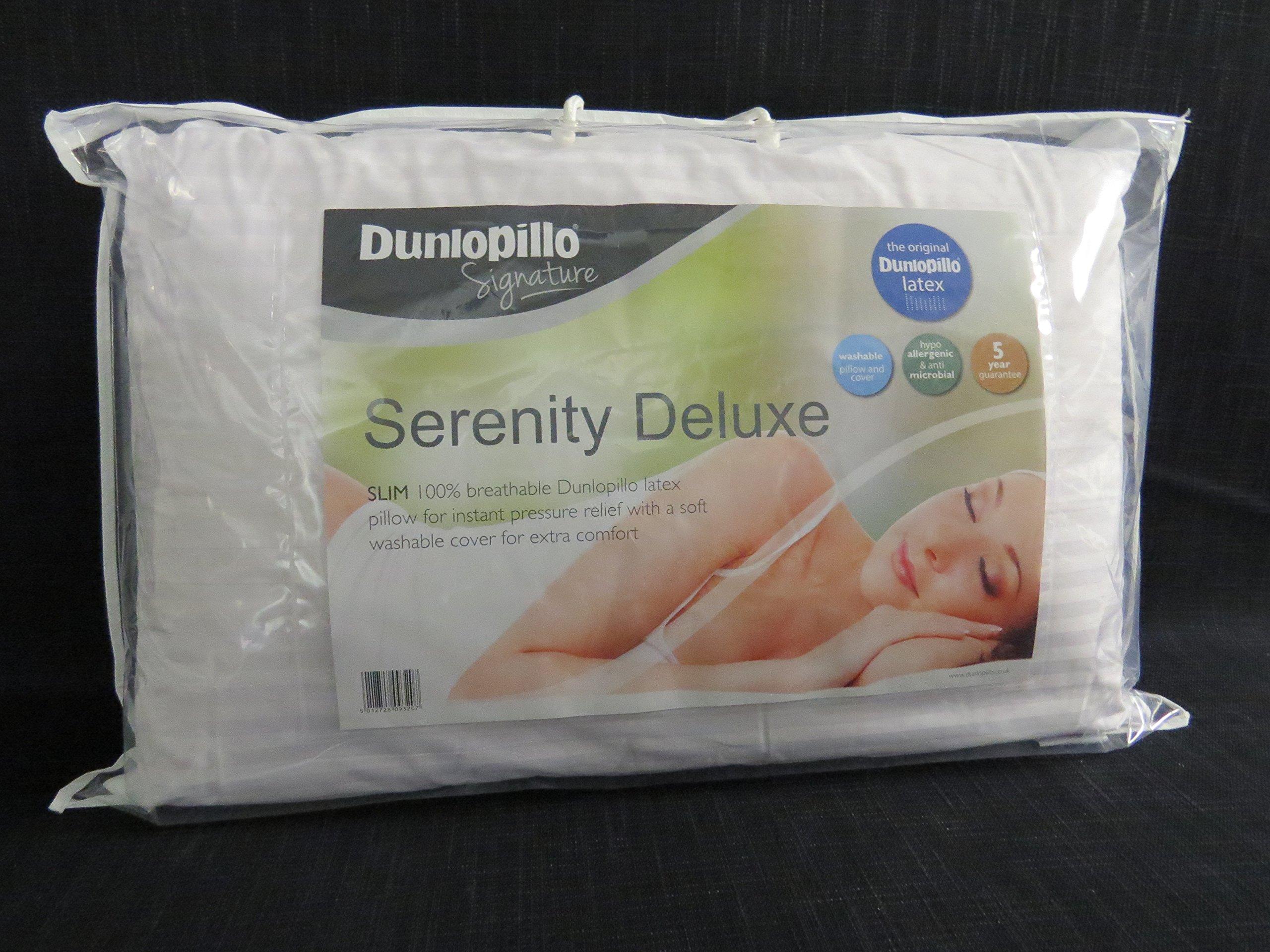 Dunlopillo serenity latex pillow slim ebay - Dunlopillo 100 latex ...