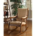 Furniture of America Betty Rocking Chair, Antique Oak