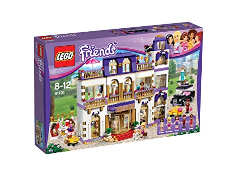 Lego Friends - 41101 - Jeu De Construction - Le Grand Hôtel De Heartlake City