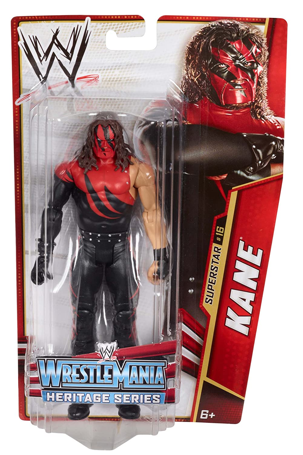 Mattel WWE  Kane - WWE Series 26 Toy Wrestling Action Figure at Sears.com