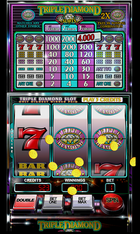 Triple Diamond Slots Free Download