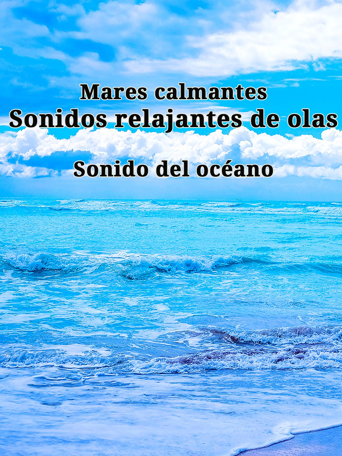 Mares calmantes: sonidos relajantes de olas. Sonido del océano.