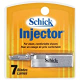 Schick Injector Blades, 7-Count Boxes (Pack of 4)