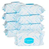 Amazon Elements Baby Wipes, Unscented, 720 Count Flip-Top Packs (Tamaño: Flip-Top (Pack of 9))