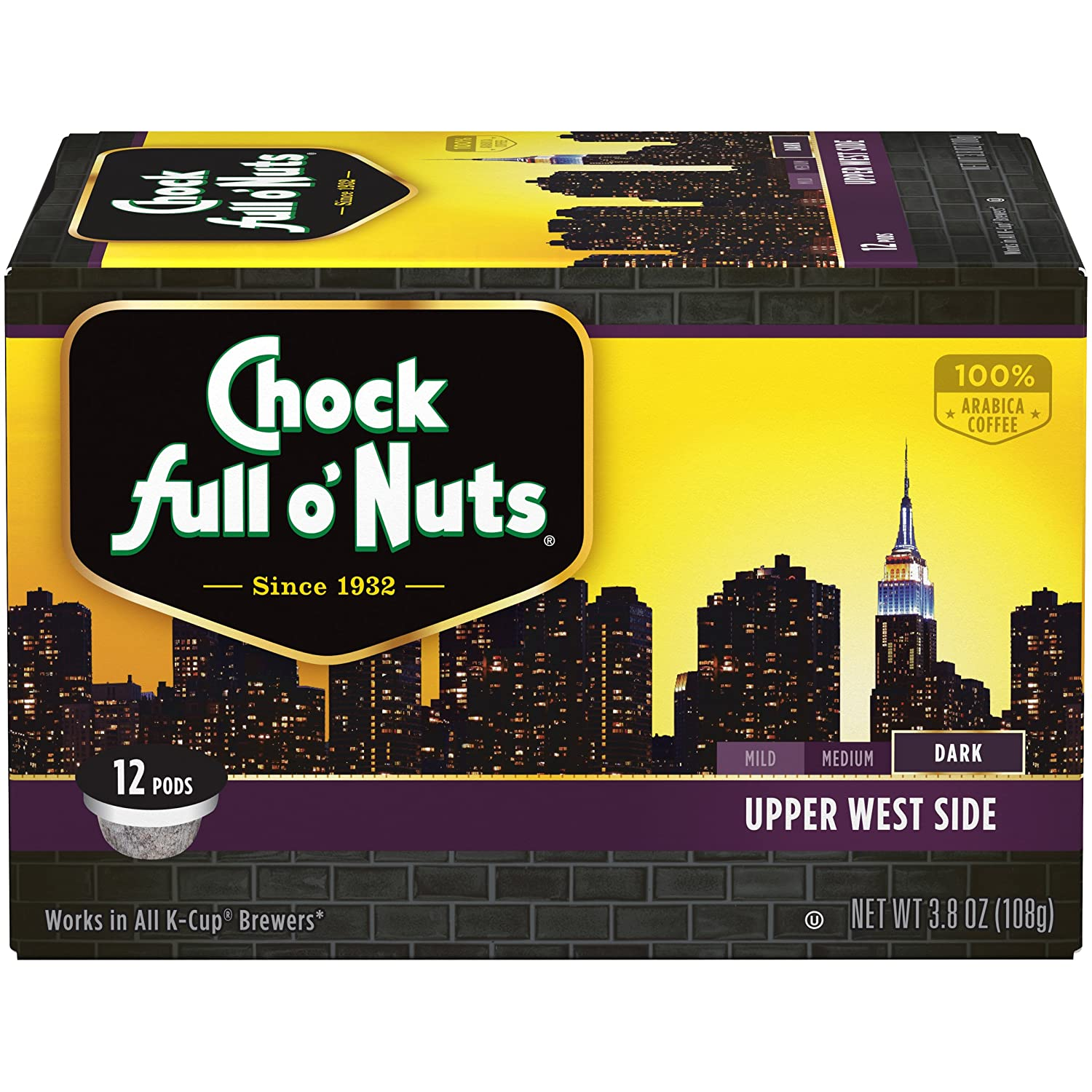 Chock Full o'Nuts, Upper West Dark Roast