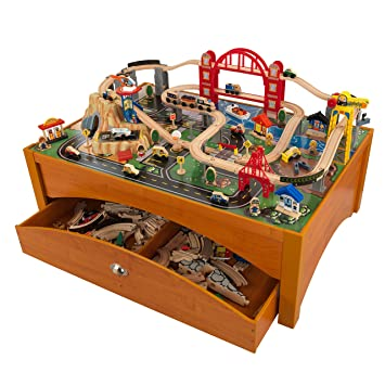 This amazoning wooden train set will ensure the kids have hours of fun 100 colourful pieces Airport includes runway and helipad Hospital with eBay kidkraft ...  sc 1 st  Amazon S3 & Mth tinplate model trains kato unitrack planning software kidkraft ...