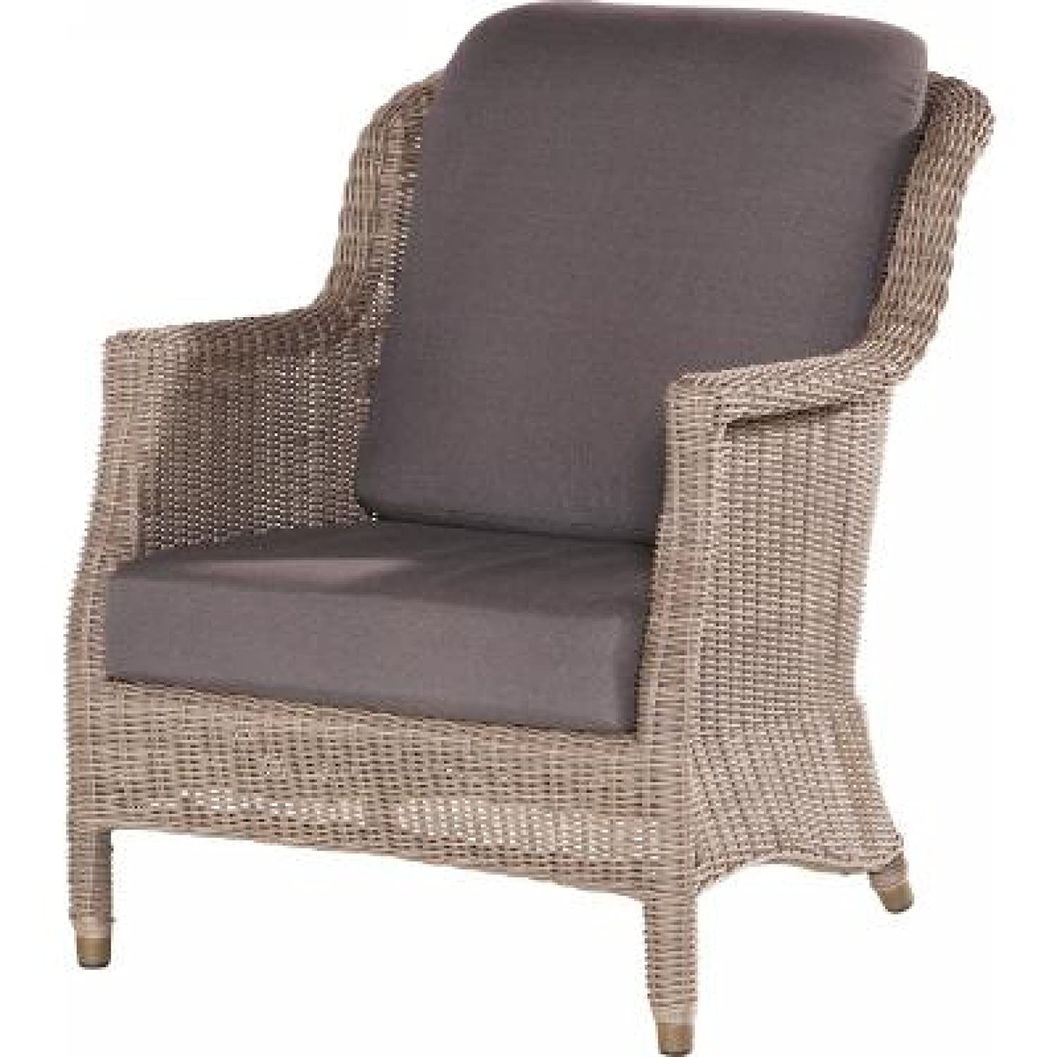 4Seasons Outdoor Del Mar Sessel living Polyrattan Pure