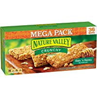 2-Pack Nature Valley Oats 'n Honey Crunchy Granola Bars Box, 36 bars (72 Bars Total)