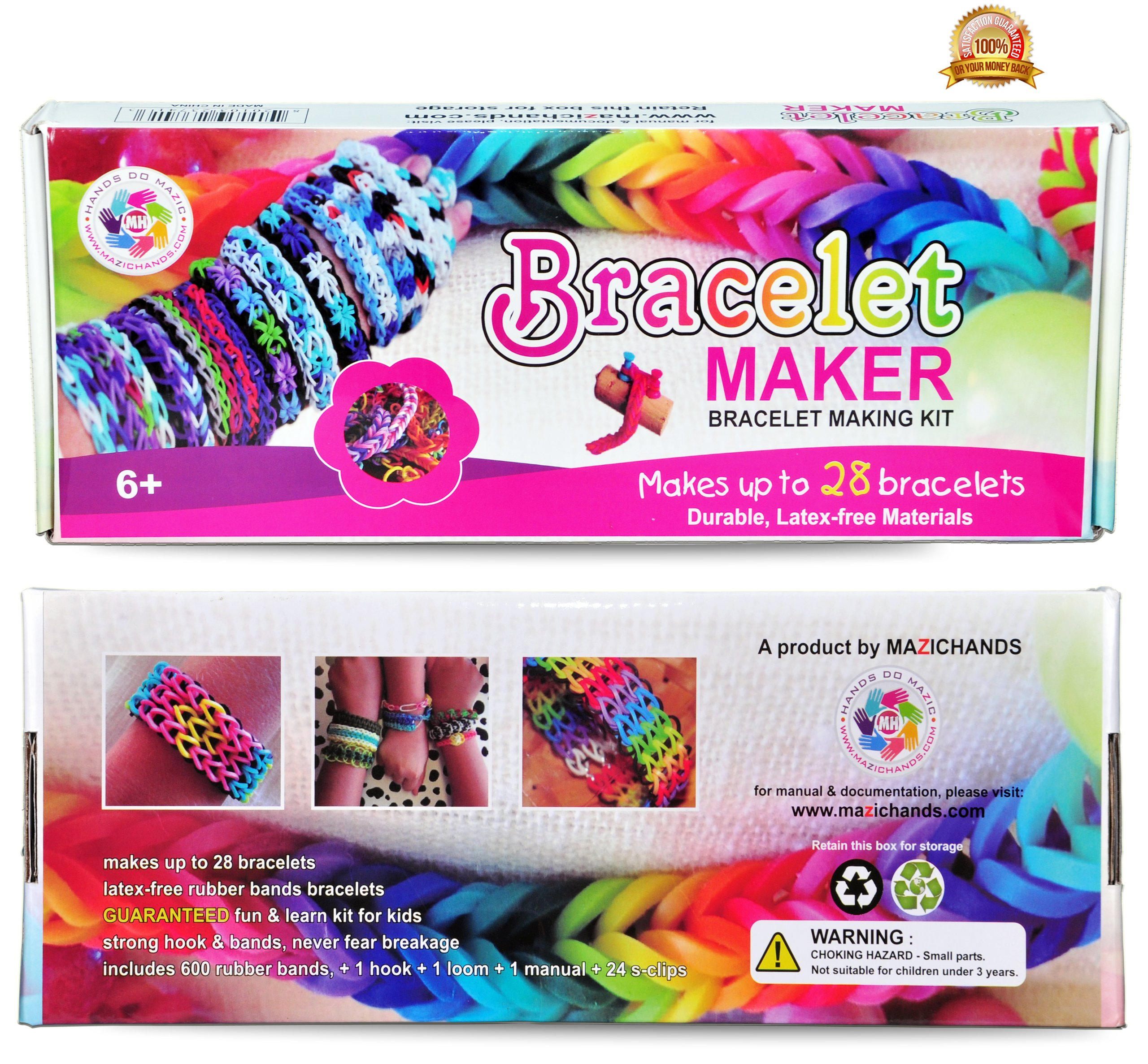 Boys arts and crafts - Arts And Crafts For Girls Best Birthday Gifts Toys Diy Kit For Girls Boys Above 6 Year Old Premium Bracelet Jewelry Making Kit Aka Friendship Bracelet