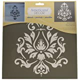 Deco Art ADS-01  Americana Decor Stencil, Brocade Motif