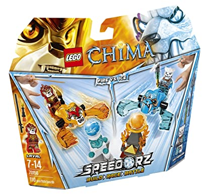 LEGO Legends Of Chima-speedorz - 70156 - Jeu De Construction - Starter Set - Laval Vs Sir Fangar