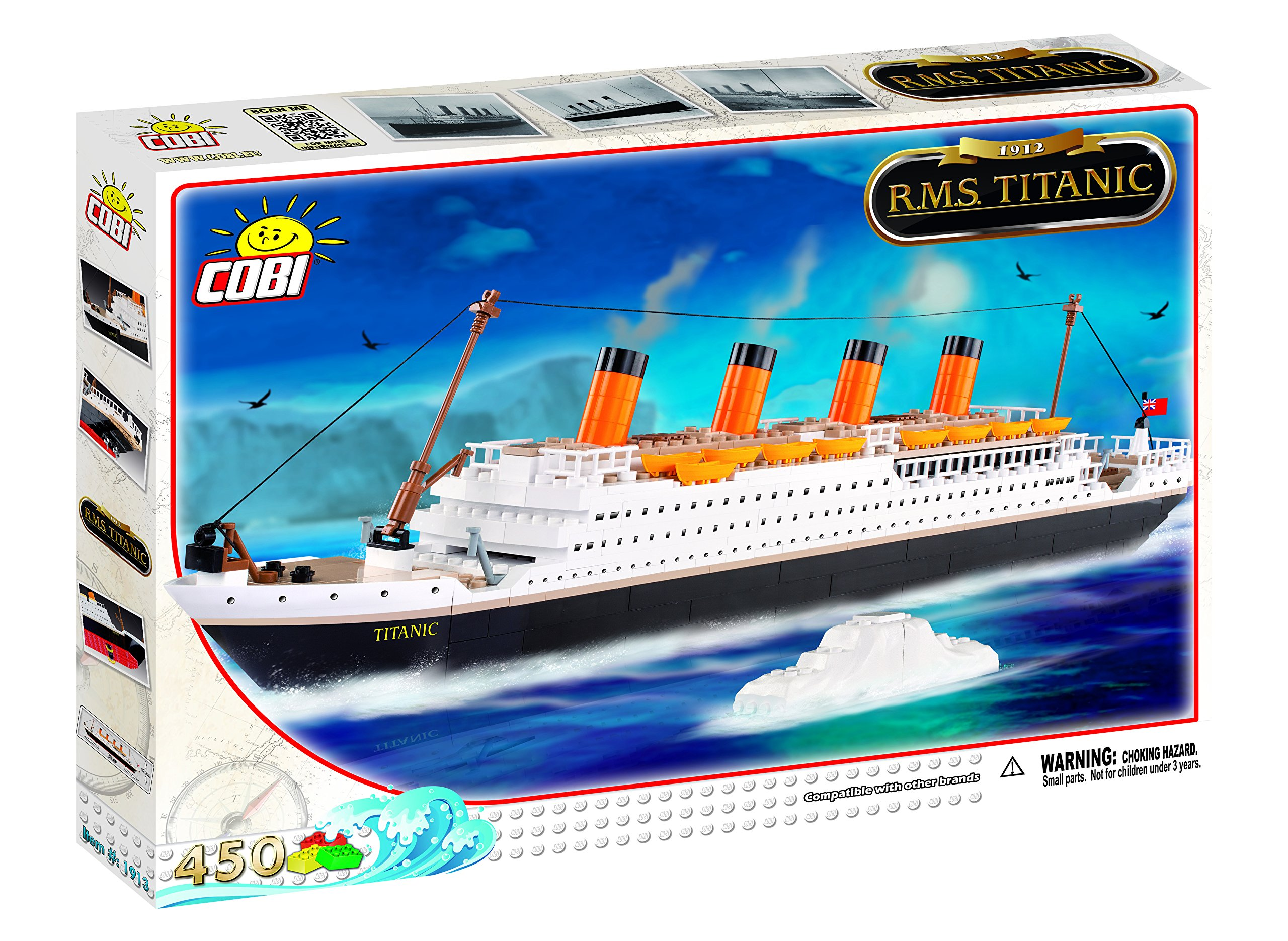 how to build a lego titanic