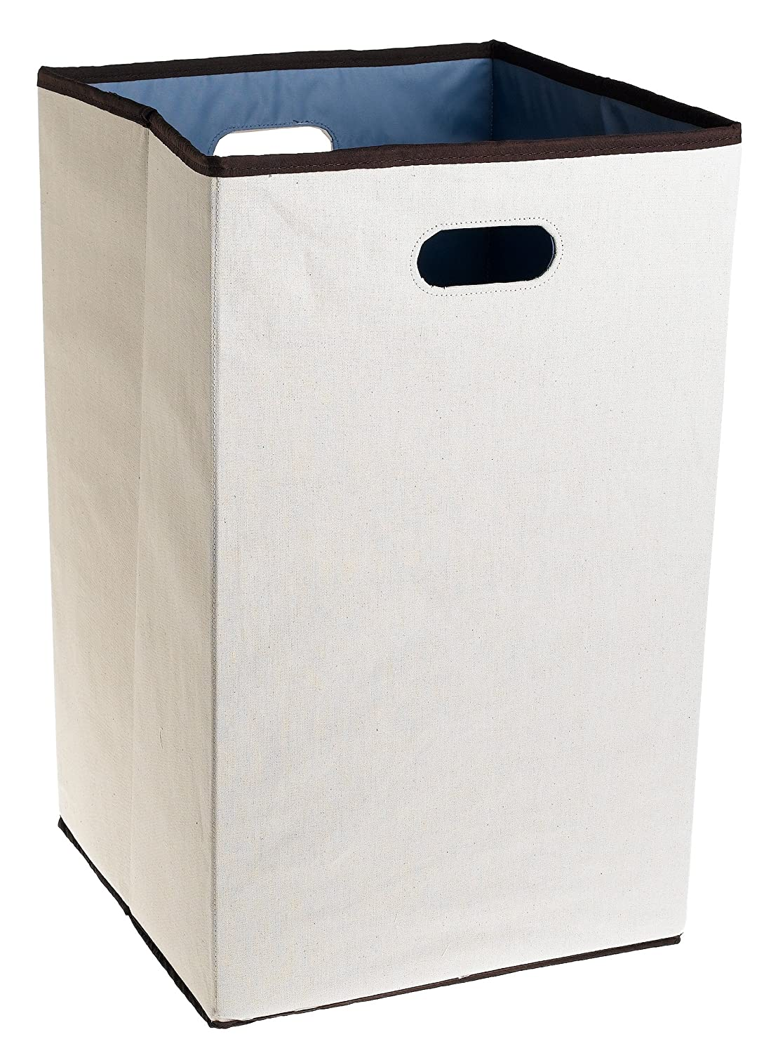 Rubbermaid 4D06 Configurations 23-Inch Foldable Laundry Hamper, Natural $10.00