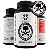 * Thermo Burn by Death Wish Supplements * for Men & Women - Tri Phase Fat Busting Pills - Thermogenic & Lipogenic Blend,Raspberry Ketones & Green Tea Extract - Oxy Burn Supplement