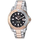 Invicta Women's 'Pro Diver' Quartz Stainless Steel Diving Watch, Color:Two Tone (Model: 24634)
