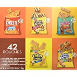 Keebler Cookies and Cheez-It Crackers Snack Packs Variety Pack, 42 Count (Packaging May Vary)