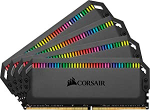 Corsair Dominator Platinum RGB 64GB (4x16GB) DDR4 3000 (PC4-24000) C15 1.35V Desktop Memory (Color: RGB, Tamaño: 64GB (4x16GB))