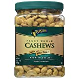 Planters Fancy Whole Cashews, Salted, 33 Ounce Jar