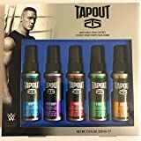 Tapout Men's Body Spray Five Pack Gift Set