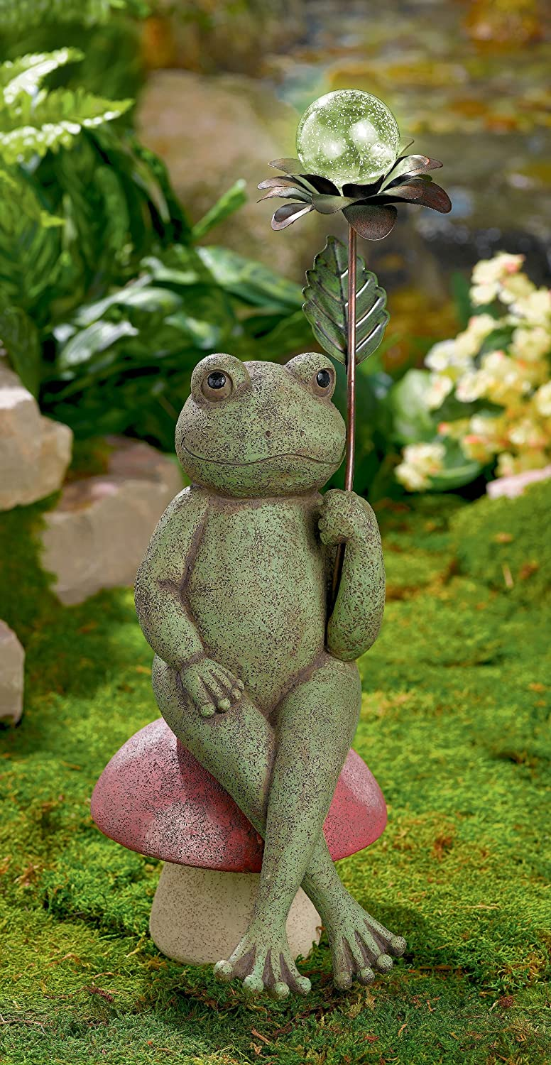 Frog lawn ornaments 100 images spi home acrobatic for Lawn and garden ornaments