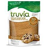 Truvia Brown Sugar Blend, Mix of Natural Stevia Sweetener and Brown Sugar, 18 oz Bag